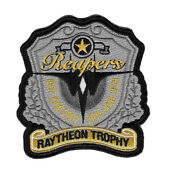 Usafe Airforce 493 Sqn F-15 Reapers Trophy Of Raytheon Patch