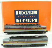 Lionel 6-18116 Erie Lackawanna Pa Aa Diesel Set 858 And 859 Mt/box