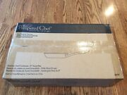 Pampered Chef Stainless Steel Saute 8 Pan 2879 Oven Safe 500°f Nib Discontinue