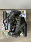 Jeffrey Campbell Chunky Boot Size 7