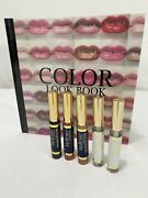 Lot 5 Lipsense Liquid Color Dawn Rising, Roseberry, Wicked And 2 Ooops Remover