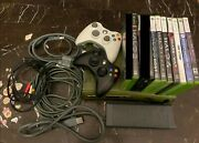 Xbox 360 Halo 3 Special Edition 20gb Green/gold Console + Kinect +14 Games Ntsc