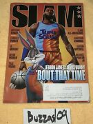 Slam Magazine Issue 233 Aug/sept 2021 Lebron James Bugs Bunny About Time Cover