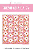 Quilt Pattern Fresh As A Daisy Moda Pen And Paper Jelly Roll Friendly Ruby Star