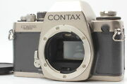 [exc+5] Contax S2 60 Years Model 35mm Slr Film Camera Body From Japan
