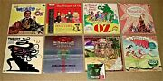 Rare 1st Edition Wizard Of Oz Lp Collection + 1 Cd -1956 To 2003 - See Photos
