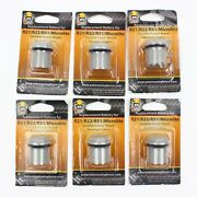 6 X Extreme Invisible Fence Compatible Dog Collar Battery Cap R21 R22 Ifa-001