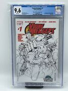 Marvel Comics The Young Avengers 01 Wizard World La Variant Cover. 9.6 Graded