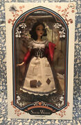 New Disney Store Snow White In Rags Doll 17andrdquo Limited Edition Le Heirloom Rare