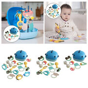 Baby Infant Teether Rattle Grab Spin Teething Baby Shower Bath Toys New