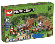 Lego 21128 Minecraft The Village 21137 21118 Flagship Rare Retired Collector New