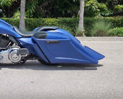 Touring Harley Davidson Stretched Saddlebags And Rear Fender Bags Bagger 2009-19