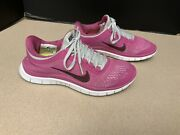 Womens Nike Free 3.0 V5 Pink Running Shoes. Size 6.5. Great Condition