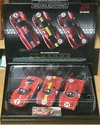 Rare Find New Scalextric 1967 Lemans Triple Pack Legends Factory Sealed C3892a
