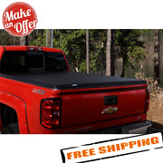Lund 969558 Hard Fold Truck Bed Tonneau Cover For 14-21 Toyota Tundra 5.5' Bed