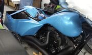 Harley Davidson 2014-18 Stretched Gas Tank Shrouds And Extended Side Cover Combo