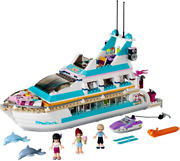 Lego Friends Dolphin Cruiser Set 41015 100 Complete W/manuals