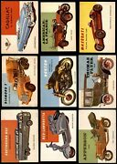 1954 Topps World On Wheels Low Number Complete Set 1-160 4 - Vg/ex