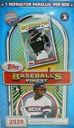 2020 Topps Baseballs Finest Flashback Online Exclusive Sealed Hobby Box Sold Out