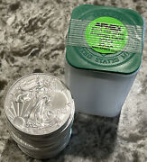 [one Roll Of 20]andnbsp 2016 American Silver Eagle Coins 1 Oz Each .999 Silver