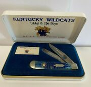 Vintage Kentucky Wildcats Case Knife 1998 Ncaa Champions Tubby And The Boys