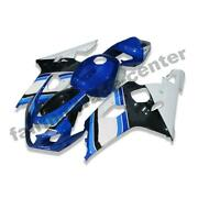 Ftc White Blue Injection Fairing Kits Fit For Suzuki 2004-2005 Gsxr 600 750 O020