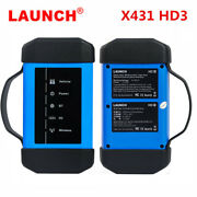 Launch X431 Hd3 Heavy Duty Truck Diagnostic Scanner Adapter Via Usb And Bluetooth