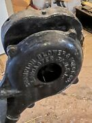 Vtg Antique Champion Hand Crank Blacksmith Forge Blower Collectible Metal Tool