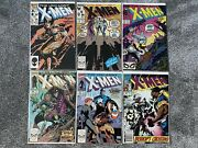 99 Uncanny X-men Issues Including 266 1st Appearance Of Gambit And Other Keys