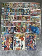 Marvel New Mutants 98 News Stand 87 1st Cable + More 51 Book Lot - Minor Keys