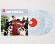 One Direction Take Me Home Clear Vinyl White Swirls Andnbspvinyle Translucide Usa