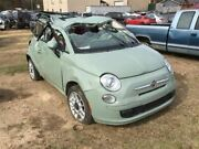 Temperature Control 2 Door Lounge White Face Plate Fits 12-17 Fiat 500 476190