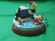 Bradford Exchange Editions Simpsons Light Up Christmas Ornament Chill Out Homer