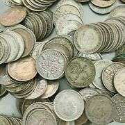 Pre 1947 British 0.500 Silver Coins And Weight 1kg