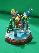 Bradford Exchange Editions Simpsons Light Up Christmas Ornament Look Marge