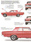 1963 Plymouth Savoy 426 Max Wedge Stage Ii S/sa Super Stock Article - Must See