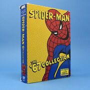 Spider-man 67 Collection Dvd - Complete Spiderman 1967 Animated Tv Series