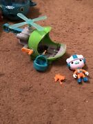 Fisher-price Octonauts Gup-h Barnacles Tree Frog Helicopter Retired Rare Find