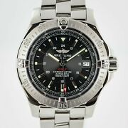 Breitling Colt Automatic Ref A17380 Menand039s Stainless Steel 41mm Black Dial