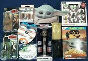 Lot Of 12 New Star Wars Collectibles Collection Pez Chocolate Mandalorian Toys