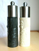 First Nations Boma Totem Salt Mill And Pepper Mill Grinder Mark Garfield Canada