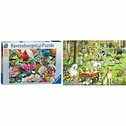 Ravensburger Garden Birds 500 Piece Jigsaw Puzzle 19.5 X 14.25 Inch And At The ...