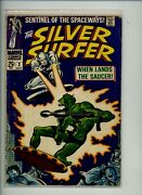 Silver Surfer 2 When Lands The Saucer 1968 Signed By Stan Lee