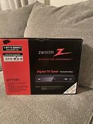 Zenith Dtt901 Digital Tv Tuner Converter Box With Remote And Cables Tested