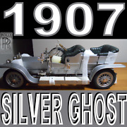 1907 Rolls Royce Silver Ghost --giant Scale-- Diecast Model Scale 112