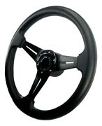 Pactrade Marine Boat Pontoon Non-magnetic Silver Steering Wheel Aluminum Frame