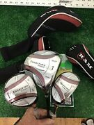 Ram Tradition Fairway Woods Set Driver 5w 4-hy Med Firm Graphite Shafts
