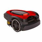 Mowro Rm18-red 28v Robot Lawn Mower With Install Kit And 2.0ah Battery.