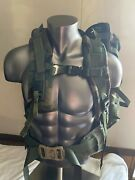 New Specialty Defense Sds Molle Ii Large Ruck Complete Set - Woodland Camo