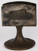 Ww2 German Clip For Matches Tank Wwii Waffen Panzer Division Iron Cross Germany